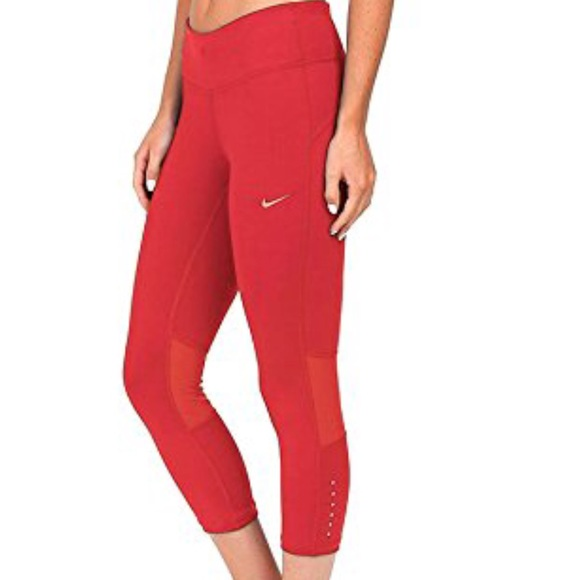d00068b970 Nike Pants | Epic Run Dri Fit Crop Capri Tight Nwt | Poshmark